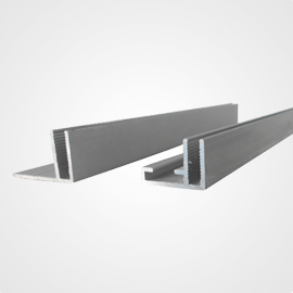 Extruded Aluminum f Channel