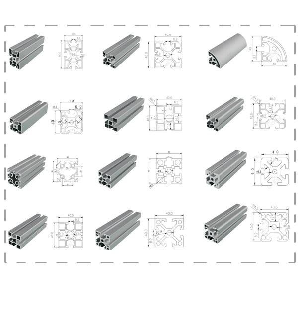 T slot aluminum profile catalog