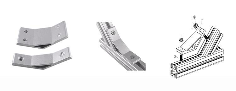 aluminium profile bracket