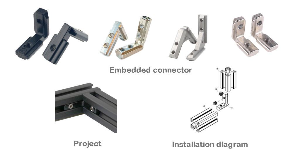 aluminium profile joints