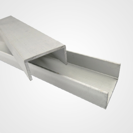 aluminum u channel extrusions