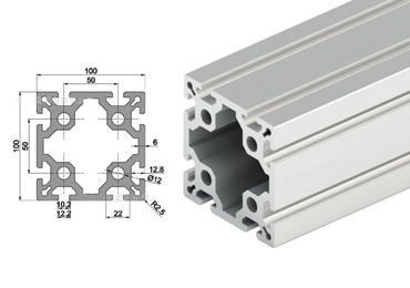 100 Aluminum Extrusion