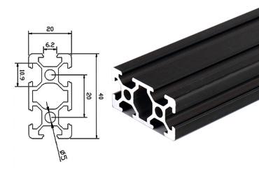 2040 Aluminum Extrusion