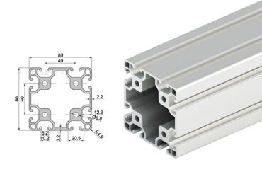 8080 Aluminum Extrusion