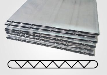 Microchannel aluminum tube