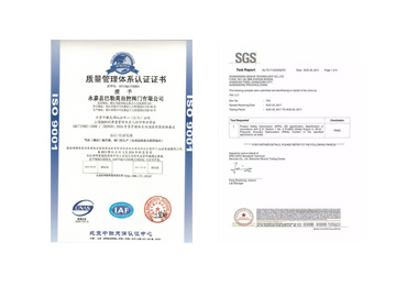 SGS & ISO Audited