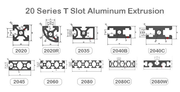 2020 aluminum extrusion