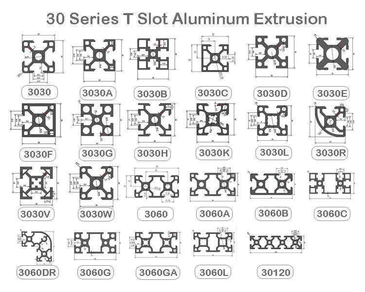 3030 aluminum extrusion