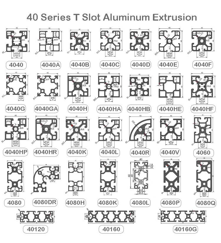 4040 aluminum extrusion