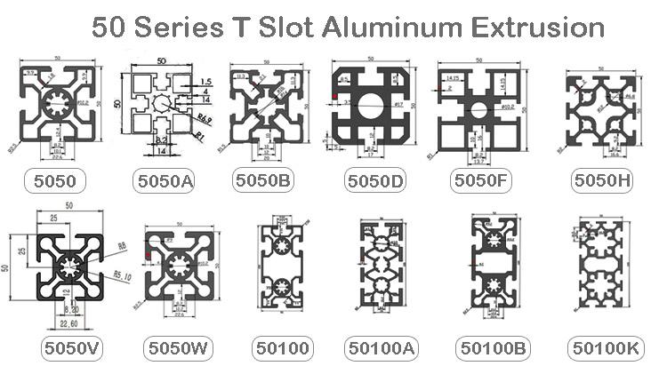 5050 aluminum extrusion