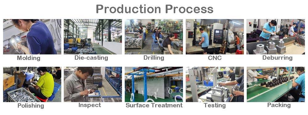 Die Casting Heat sink production