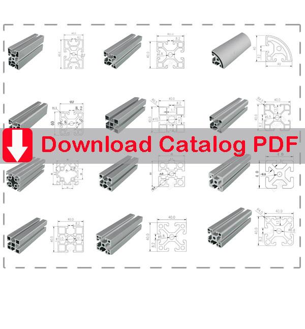 T slot aluminum extrusion catalog