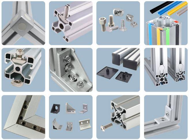 T slot aluminum profile