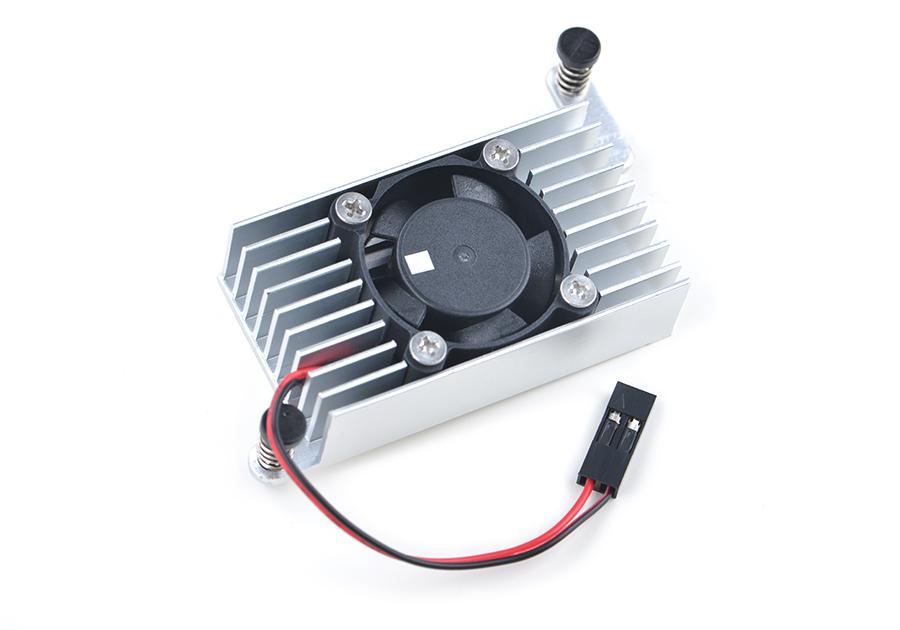 Heat sink with fan