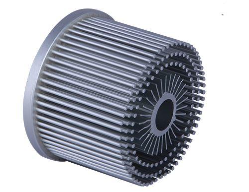 Forgen aluminum heat sink