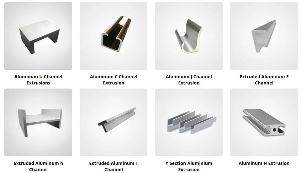 Aluminum channel profile