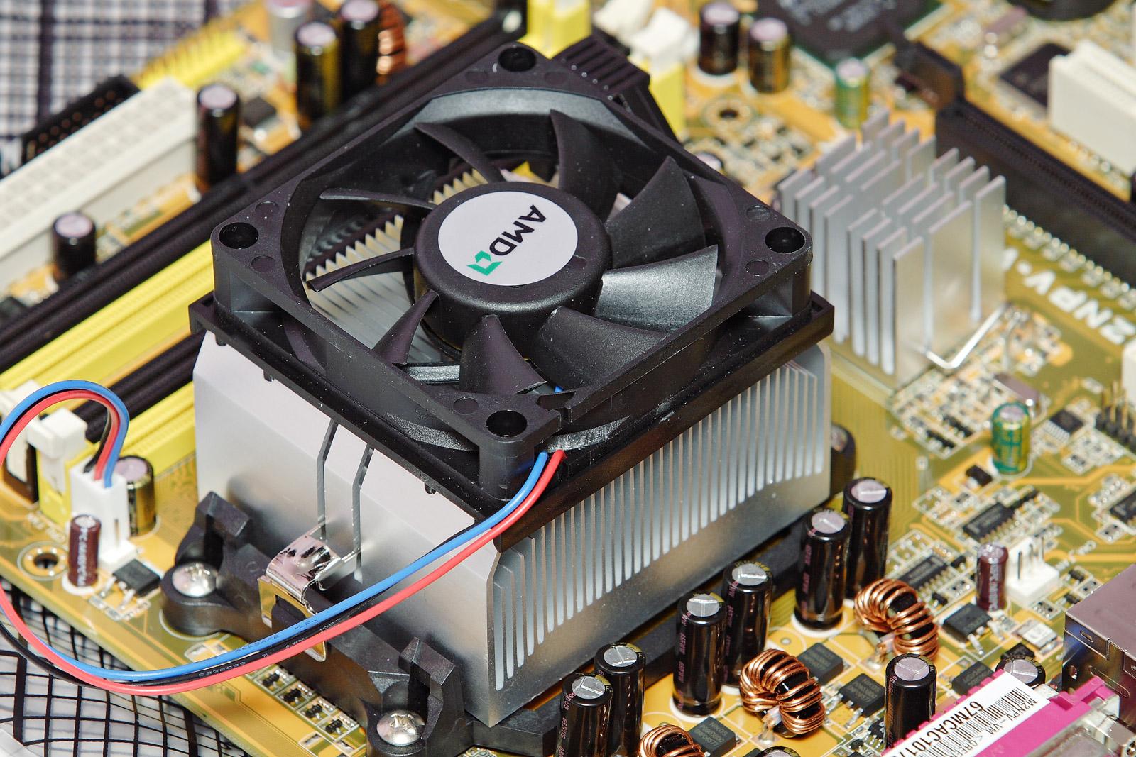 Heat sink on PCB