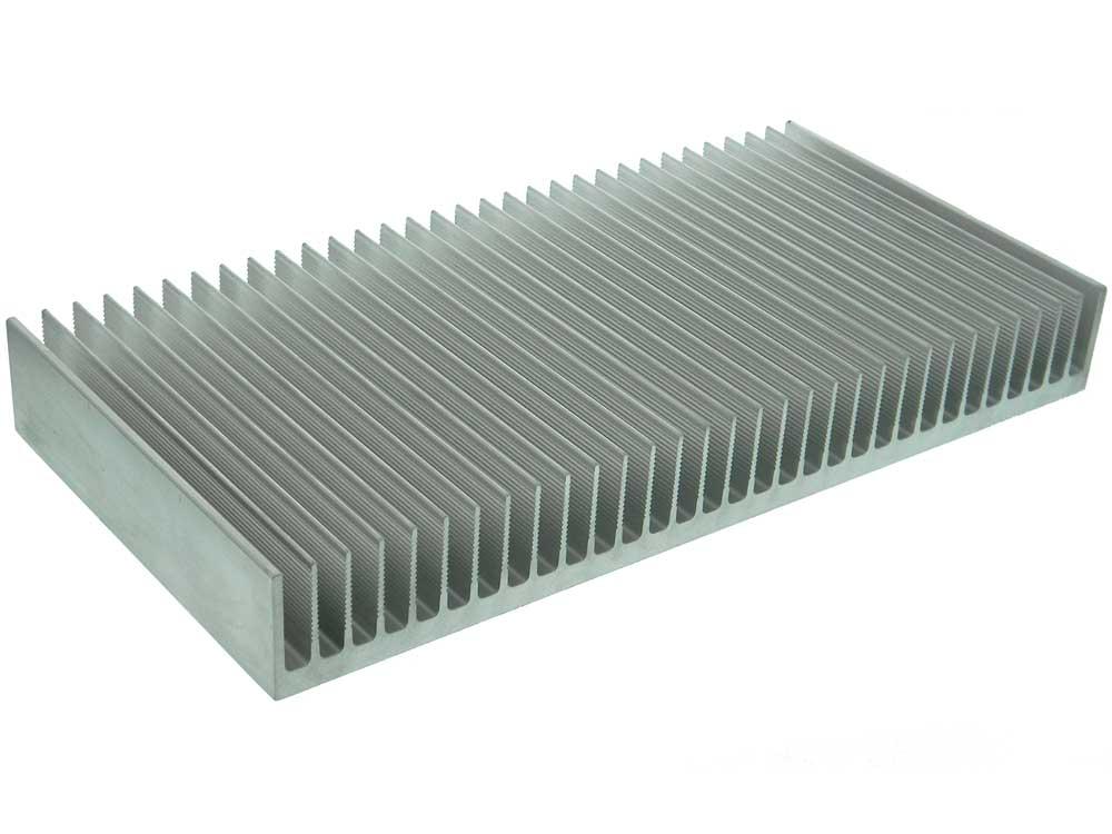 Large aluminum heat sink