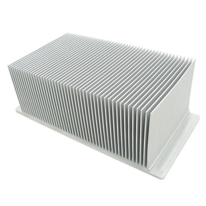 Skived aluminum heat sink