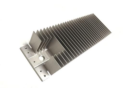 CNC machines aluminum heat sink